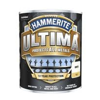 Hammerite Ultima Smooth Metal Paint - 750ml White